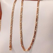 Ланцюжок Xuping Картьє длина 35 см, ширина 2.5 мм, позолота 18К